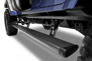 Amp Research Running Board Power Steps 2007-2018 Jeep Wrangler Unlimited 4 Door