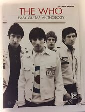 Alfred: The Who Easy Guitar Anthology Book / Easy Guitar Tab Edition