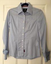 Ladies Original FC Barcelona Blue Shirt Buttons Size S