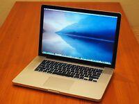 "15"" Apple Macbook Pro i7 Quad Core + 16 GB RAM + 1 TB Solid State Drive! + MORE!"