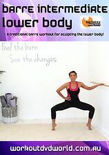Barre Workout EXERCISE DVD - Barlates Body Blitz - BARRE INTERMEDIATE LOWER BODY