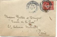 France 1908 10c On Cover To Paris My Ref 402