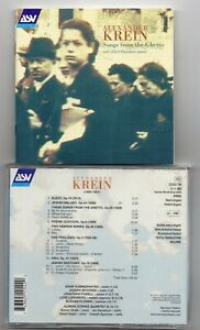 Alexander Krein - Songs From The Ghetto  (CD 2003)