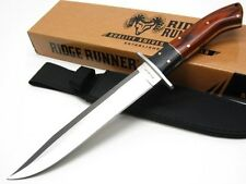 RIDGE RUNNER Pakkawood MONTANA TOOTHPICK Fixed BOWIE Knife + Sheath RR466 New!