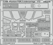 Eduard 1/72 McDonnell-Douglas Phantom FGR.2 Undercarriage # 72686