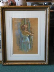 MISCHA ASKENAZY 1888-1961 Listed Early California Plein Air Impressionist Artist
