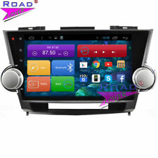 Android 6.0 Car Stereo DVD Player For Toyota Highlander 2009-2014 GPS Navi WIFI