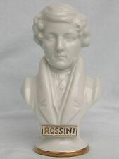 Detailgetreue Porzellan Büste,Rossini,Wagner & Apel Porzellan,Neu,Topzustand