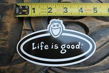 LIFE IS GOOD Surf Clothing Optimism Smile Surfboards Vintage Surfing STICKER