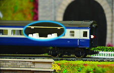 Model Railway Coach Lighting - Easy fit with no wiring - Cool White OO Gauge