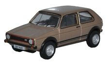 Oxford Die-cast 76GF006 VW Golf GTi Brown Metallic 1:76 OO scale Volkswagen