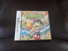 New Carnival Games (Nintendo DS, 2010) EUC FREE USA SHIPPING