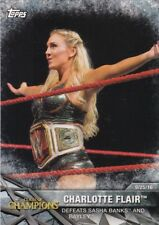 2017 Topps WWE Women's Division Sammelkarte, Momments # WWE-9 Charlotte Flair