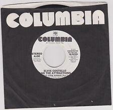 ELVIS COSTELLO - TOKYO STORM WARNING - 45 RPM VINYL - 1986  - RARE DJ COPY