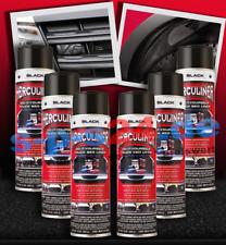 6x Herculiner Beschichtung Spraydose Spray 440 Ml schwarz extrem robust
