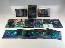 GHOST IN THE SHELL (JPP/AMADA/1998) ALL-CHROMIUM Complete 69 Card Set w/ CHASE