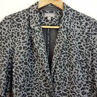 [ SUSSAN ] Womens Print Jersey Blazer / Jacket   Size S or AU 10