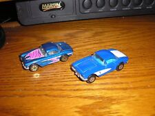 Nice Lot of 2 Different Matchbox 1960's Chevy C2 Corvettes Free Shipping