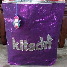 KITSON LA Purple Sequin Medium Tote Bag - NWT