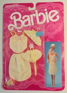 Lingerie barbie superstar #3183 in confezione sigillata