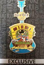 Hard rock cafe pin miami City té pin v15