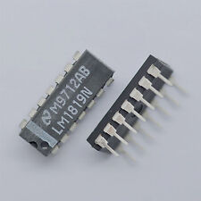 10pcs LM1819N LM1819 Genuine NEW NS Air-Core Meter Driver IC Chip