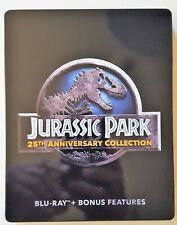 Jurassic Park 25th Anniversary (Blu-Ray, 4 Discs) Steelbook Collection