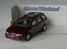 Fiat Marea Weekend Burgundy 1/43 Scale Maisto Diecast Model in Box 9632