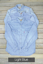 Vintage Herren Levi's Strauss langärmlig Jeans Hemden xs, S, M,L,XL,XXL