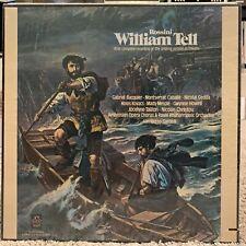 ROSSINI SEALED!  William Tell Gardelli Cabelle RPO 1973 Angel SEL3793 Stereo Box