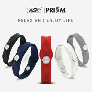 Power Ionics Prism 3000 Ions Titanium Germanium Wristband Bracelet Balance Body