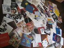 90 INSERT LOT Classic Rock Metal NO RECORDS Pink Floyd Beatle Who Rolling Stone