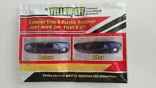 Car Trim Restorer Exterior Black Plastic Bumper Protection High Shine WIPES