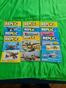 lot magazine Réplic (n°19, 31,33,39,40,48,56,65,109)