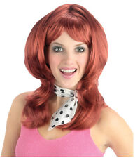 Synthetic Role play Reenactment or Crossdresser Costume Short Redhead Wig