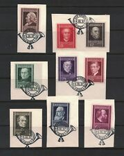 AUSTRIA 1937. Physicians Stamp Set. Complete (9). VF Stamp Day Cancels. Rare !