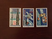 GERMANY EAST DDR MNH 1978 SPACE RESEARCH SATELLITE CAMERA ROCKET