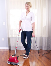 Tile Floor Scrubber Machine With Brushes Hardwood Wood Buffer Polisher Cleaner
