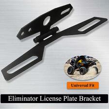 Custom Motorcycle Dirt Sport Bike ATV Eliminator License Plate Bracket Fender