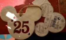 Ornament 25 PORCELAINE / Porcelain Disneyland Paris Christmas