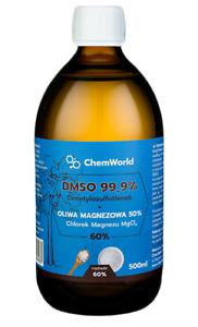 ChemWorld DMSO 99,96% with Magnesium Chloride Bone Support, FREE P&P