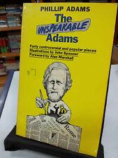 The Unspeakable Adams by Phillip Adams (paperback 1980)