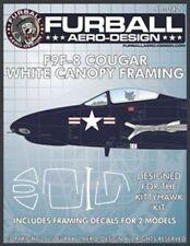 Furball Aero-Design 1/48 f9f-8 COUGAR BIANCO CALOTTA INQUADRAMENTO #48042
