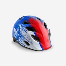 Bicicleta de Montaña Infantil Ciclo de Casco Met Elfo Azul Rojo Hero 46 53 Cm