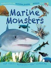 Sticker Activity Book - Marine Monsters (Puzzle Activity Sticker Books), Nat Lam