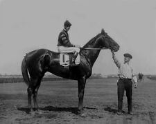 Champion Racehorse MAN O WAR Glossy 8x10 Photo Clarence Kummer Print Horse
