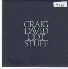(BY277) Craig David, Hot Stuff - 2007 DJ CD