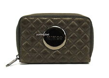 MIMCO REVOLUTION MIM LEATHER PURSE WALLET IN CEMENT BNWOT RRP$129