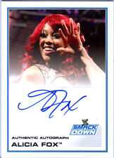 WWE Alicia Fox 2013 Topps Triple Threat Authentic Autograph Card SmackDown DWC