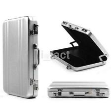 Lockbox Shape Business ID Credit Card Holder Aluminum Metal Pocket Case Box US